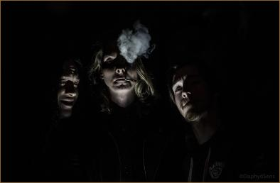 Backstage spooky smoke